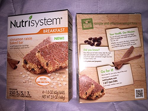 (Nutrisystem Cinnamon Raisin Baked bar)