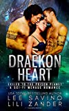 Draekon Heart: Exiled to the Prison Planet: A Sci-Fi Menage Romance (Dragons in Exile)