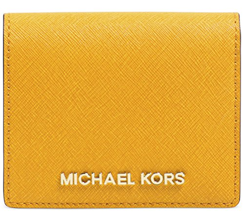 Michael Kors Jet Set Travel Flap Card Holder Sun