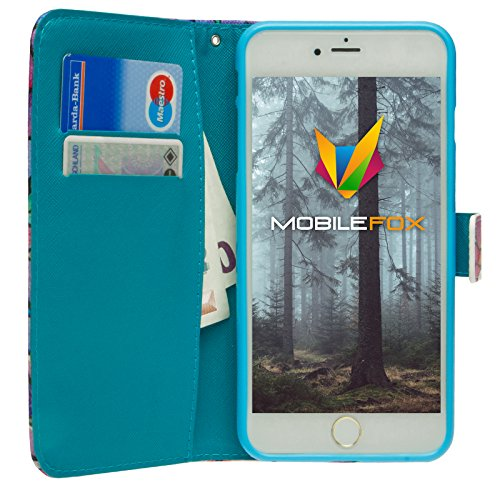 Mobilefox Traumfänger Flip Case Handytasche Apple iPhone 6/S