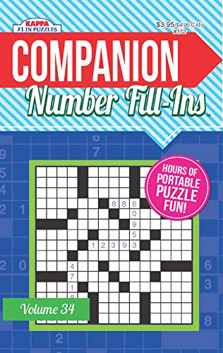 Companion Number Fill Ins - Volume 34