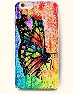 Broken Butterfly - Rainbow Color Series - Phone Cover for Apple iPhone 6 Plus ( 5.5 inches ) - SevenArc Authentic...
