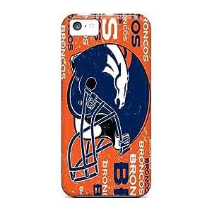 Iphone 5c JPP14316RWjQ Provide Private Custom Attractive Denver Broncos Skin Anti-Scratch Hard Phone Case -SherriFakhry