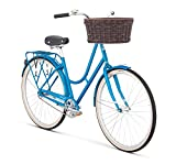 Raleigh Bikes Raleigh Gala Women's City Bike, 42cm Frame, Blue, 42 cm / Small For Sale