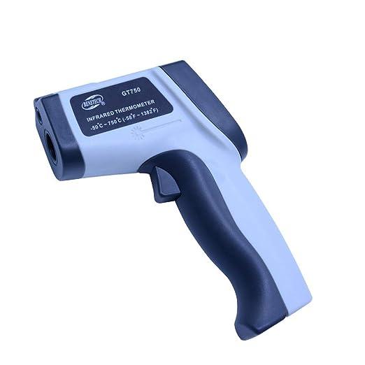 RTYUU Termómetro infrarrojo con láser Termómetro electrónico ...