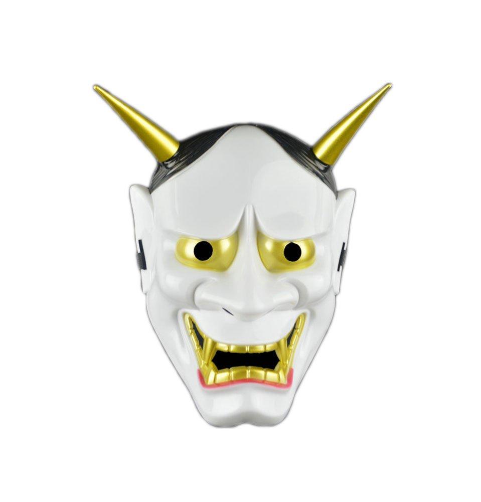 Máscara Facial Japonesa de la máscara Blanca de la Novedad ...