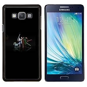 Caucho caso de Shell duro de la cubierta de accesorios de protección BY RAYDREAMMM - Samsung Galaxy A7 A7000 - Equipo Jedi