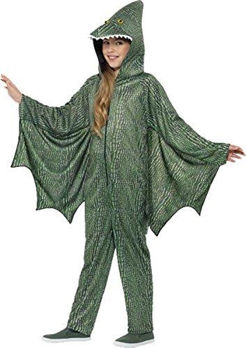 Fire Girl Costume Uk (Pterodactyl Dinosaur Costume Medium Age 7-9)