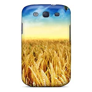 Defender Case With Nice Appearance (abstract Yellow Mantis 3d) For Galaxy S3