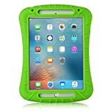 iPad Mini 4 Case - iXCC Shockproof Silicone Protective Rubber Soft Gel Case Cover [Drop Proof - Kids Proof - Shock Proof - Anti slip] - Green