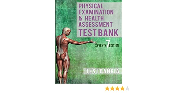 Physical examination and health assessment 7th edition test bank physical examination and health assessment 7th edition test bank 9781536812350 medicine health science books amazon fandeluxe Images
