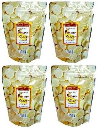 Trader Joes Freeze Dried Bananas (4 Pack) by Trader Joe's