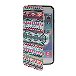 ANDHOWELL Tapa Funda Carcasa Cuero Case para iPhone 6 Plus