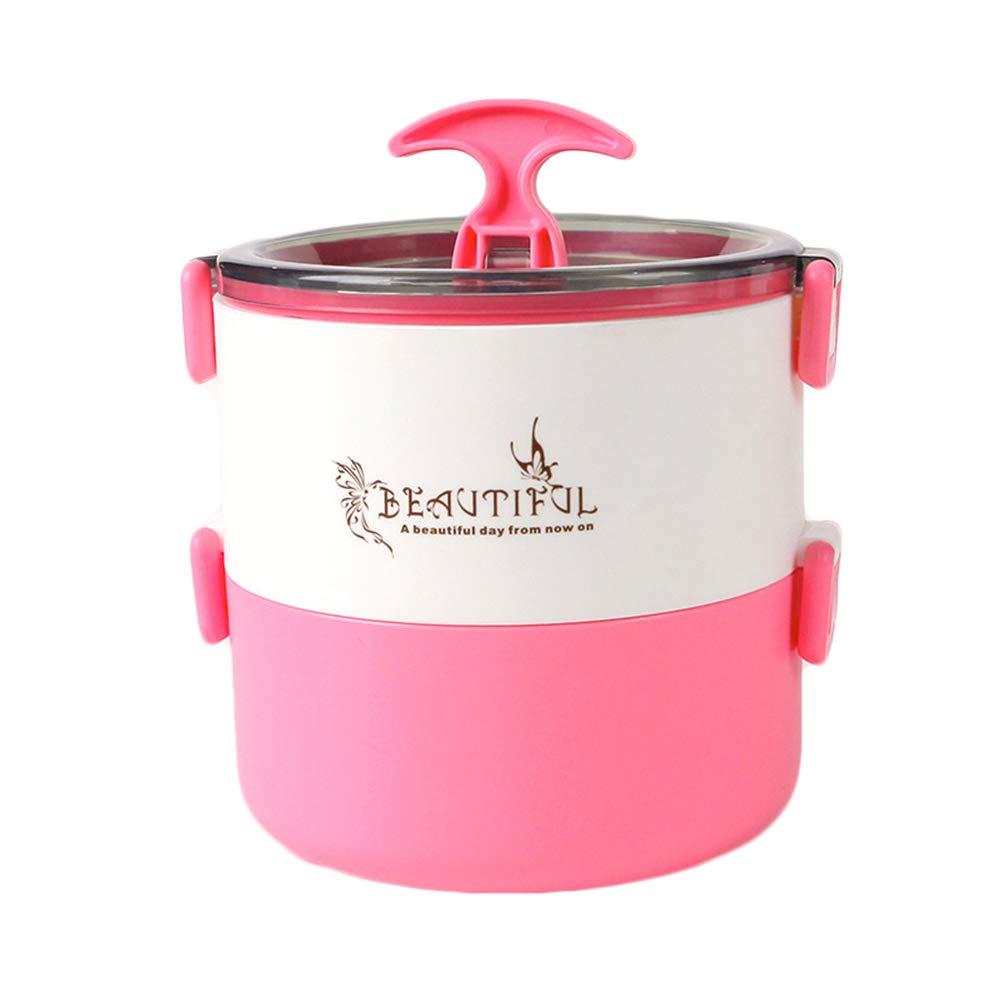 RQLM Lunchbox-Runden-bento Box BehäLter-Edelstahl-Brotdose FüR Schüler und und und Büroangestellte B07JDMZ5W9 | Authentische Garantie  ca6eaa