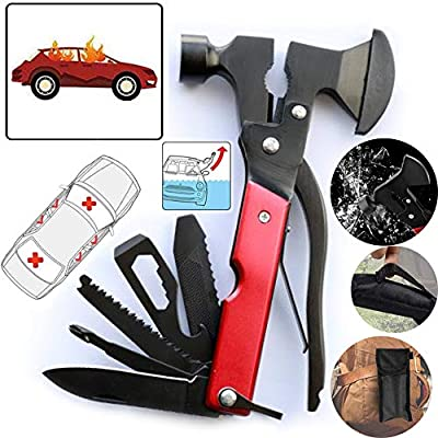 16-in-1 Multi Survival Kit, Tools for Men, Survival Gear, Hking Gear with Plier, Screwdrivers, Bottle Opener & More from pingya