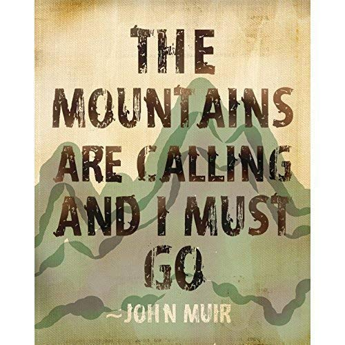 John Muir Quote About Mountains