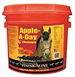 Finish Line Horse Mineral Electrolyte Supplement. Helps Keep horses Hydrated. No Sugars or Dyes added (Apple-A-Day)