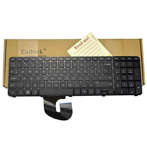 Eathtek Replacement Keyboard with Frame for HP Pavilion DV7-4000 DV7-4030 DV7-4050 DV7-4100 DV7T-4100 DV7-4269WM DV7-4177NR DV7-5001XX series Black US Layout (Notes: Not fit for DV7 DV7-1000 Laptop!!) 4000 4100 Series Replacement Laptop