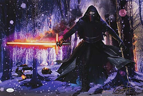 Ltd Ed Lithograph - Star Wars Kylo Ren 19X13 Ltd Ed Lithograph Autographed Signed Memorabilia By Greg Horn - JSA Authentic