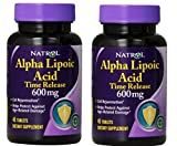 Natrol Alpha Lipoic Acid Time Release - 600 mg - 45 Tablets by Natrol