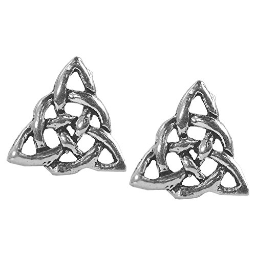 Stud Earrings Sterling Silver - Celtic Knot