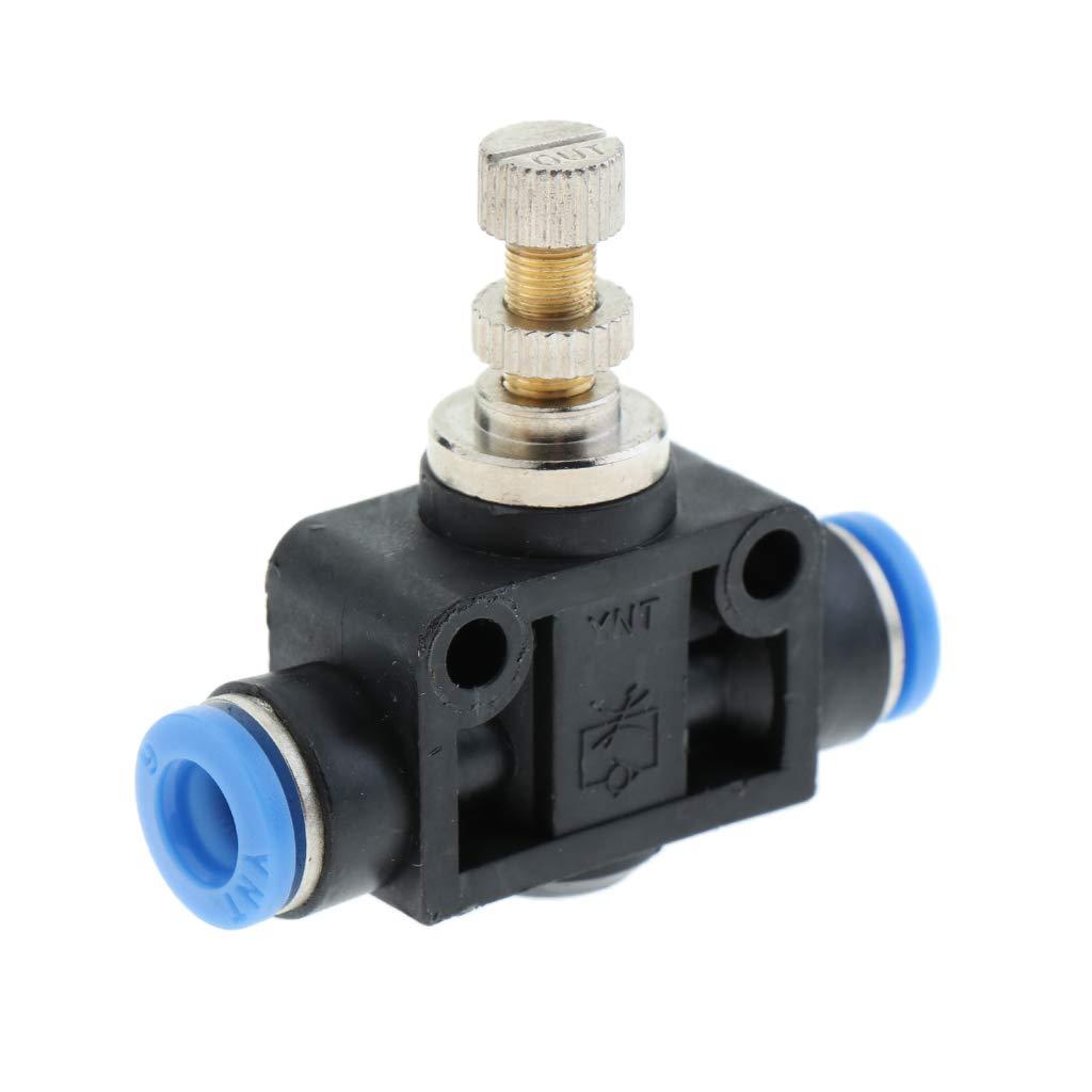 Controladores De Velocidad Restrictor De Flujo De Aire Para Cilindros Y Tipo De Tuber/ía De V/álvula 4mm