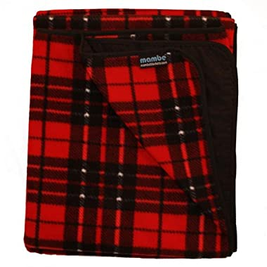 Mambe Large Classic Outdoor Blanket (Classic Plaid)