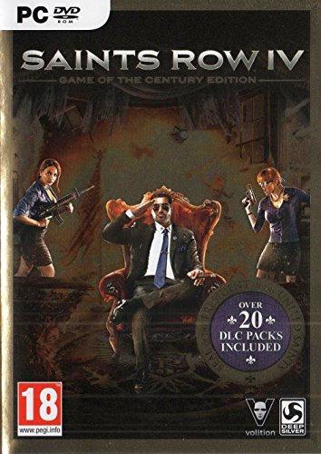 Saints Row 4: Game of the Century Edition (PC DVD) (Saints Row Iv Game Of The Century Edition)