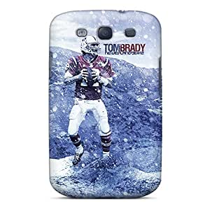 Premium Protection New England Patriots Cases Covers For Galaxy S3- Retail Packaging