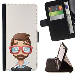 Momo Phone Case / Flip Funda de Cuero Case Cover - Il développeur Polygone Art - Sony Xperia M4 Aqua