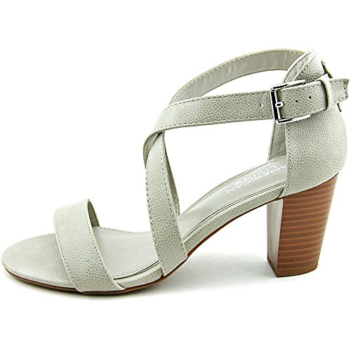 American Living Womens London Open Toe Special Occasion Strappy Sandals Stone HYNqTv4U