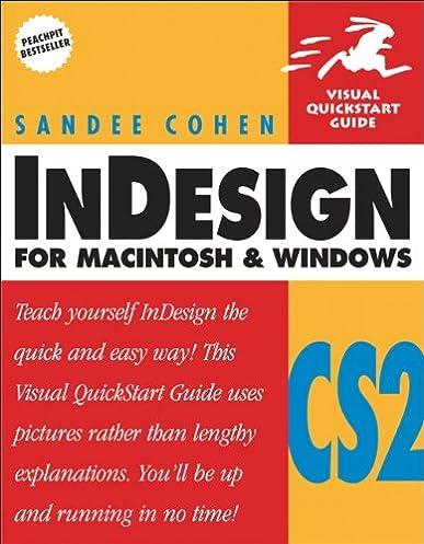 indesign cs2 for macintosh and windows sandee cohen 9780321322012 rh amazon com Adobe InDesign Templates Adobe InDesign Examples