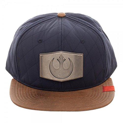 SuperHeroStuff Star Wars Han Solo Inspired Snapback Hat Standard ()
