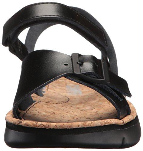 Husbil Kvinna Oruga K200631 Platt Sandal Svart