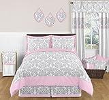 Sweet Jojo Designs Pink, Gray and White Elizabeth