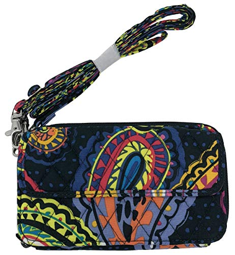 Vera Bradley All in One Crossbody for iPhone 6/6+ Wristlet (Twilight Paisley)