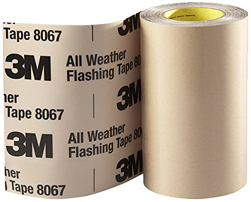 3M All Weather Flashing Tape 8067 Tan, 12 in x 75 ft Slit Liner (1 roll) by 3M (Image #1)