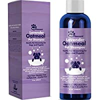 Natural Dog Shampoo with Colloidal Oatmeal Puppy Shampoo for Dog Bath