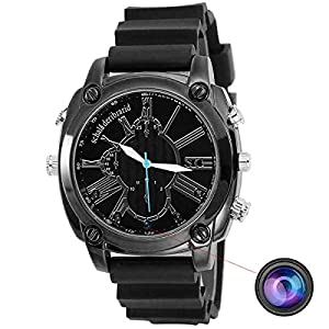 1080P Camera Spy Watch