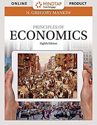 MindTap Economics for Mankiw's Principles of Economics, 8th Edition