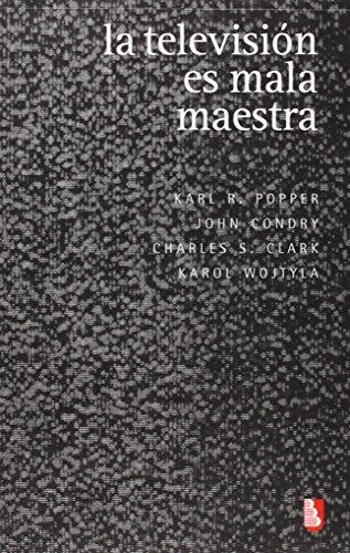 la-television-es-mala-maestra-biblioteca-universitaria-de-bolsillo-spanish-edition