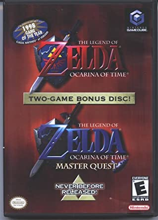 Amazon com: The Legend of Zelda: Ocarina of Time (w/ Master Quest