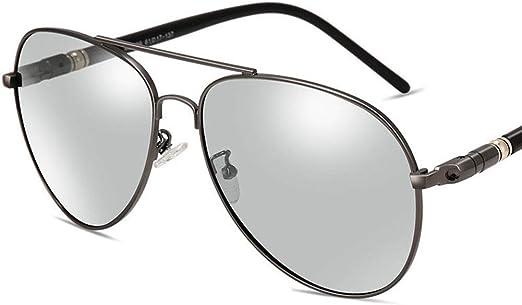 Gafas de Sol para Hombre, Nuevas Gafas de Sol polarizadas piloto ...