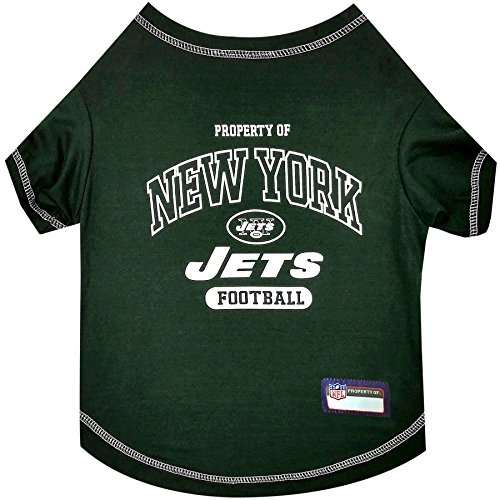 NFL NEW YORK JETS Dog T-Shirt, Small