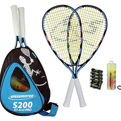 - Speedminton SM01-S200-04 Speed Badminton Set(4 Players)