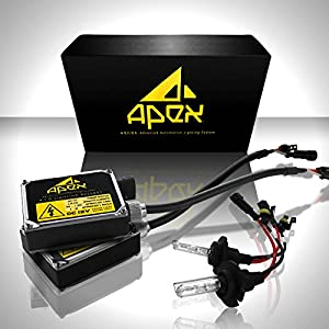 "Apex 9006 / HB4 Xenon Hid Conversion Kit ( 8k 8000k Bright Blue ) "" All Bulb Sizes and Colors "" with Premium Digital Ballasts Hids kits"