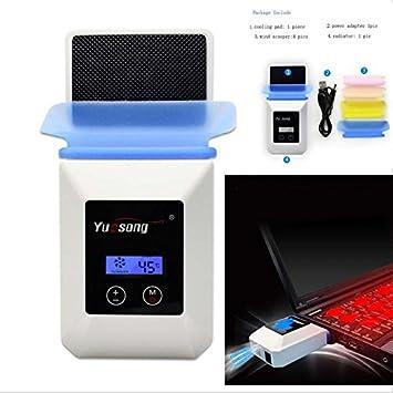 eimolife ® 2015 nuevo disipador de calor PC ventilación con última tecnología, el gran radiador para el ordenador portátil, Bloc de notas,.
