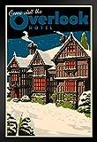 Overlook Hotel Vintage Travel Framed Poster 14x20 inch