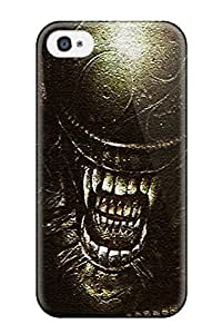 Iphone 4/4s AxS-12kozwNimp Aliens Tpu Silicone Gel Case Cover. Fits Iphone 4/4s