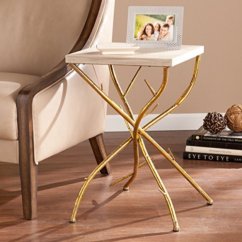 Upton Home Nichola Branch Accent Table - Marble Console Tabletop Shopping Results